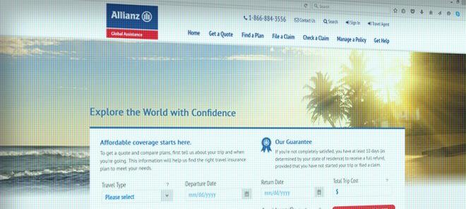 AllianzTravelinsurance.com Review  Global Traveller